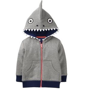 Gymboree monster zip up hoodie for boys